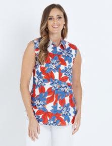 W.Lane Floral Printed Shirt