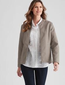 W.Lane PU Jacket