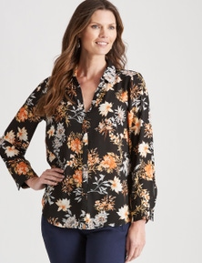 W.Lane Floral Shirt