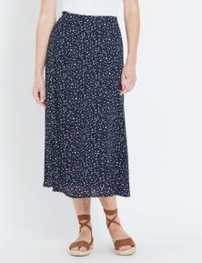 W.Lane A-Line Printed Skirt