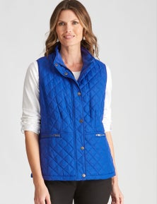 W.Lane Quilted Sleeveless Puffer