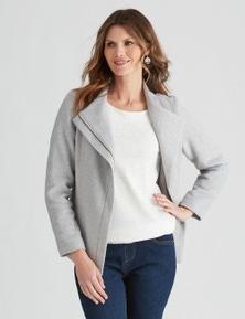W.Lane Panelled Zip Jacket