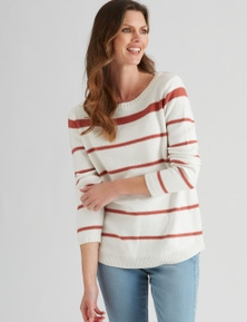 W.Lane Block Stripe Pullover