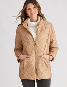 W.Lane Tile Quilted Puffer Jacket