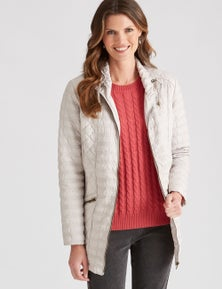 W.Lane Quilted Puffer Coat