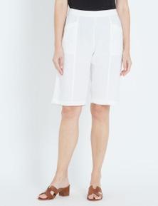 Maggie T Smart Linen Short