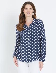 W.Lane Spot Print Shirt