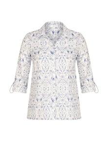W.Lane Tropical Print Shirt