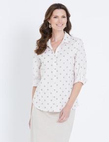 W.Lane Spot Printed Shirt