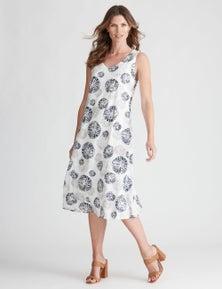 W.Lane Circle Tie Dye Dress