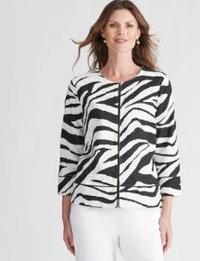 W.Lane Spot Texture Jacket