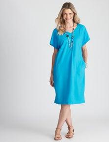 W.Lane Tuck Detail Dress