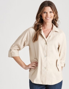 W.Lane Casual Linen Jacket