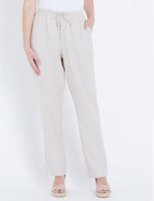 W.Lane Linen Full Length Pant