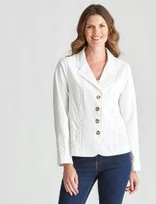 W.Lane Cornelli Trim Jacket