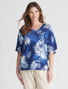 W.Lane Abstract Flutter Top