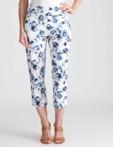 W.Lane Watercolour Floral Crop Pant