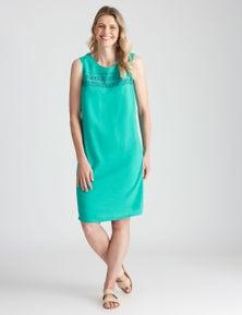 W.Lane Panel Linen Dress