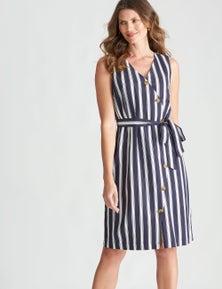 W.Lane Button Through Dress