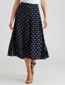 W.Lane Spot Split Skirt
