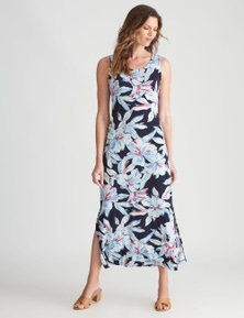 W.Lane Tropical Maxi Dress