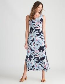 W.Lane Tropical Maxi Dress