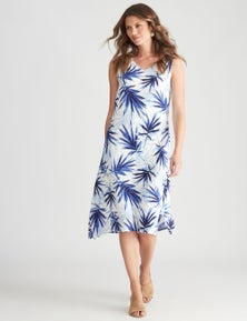 W.Lane Abstract Fern Dress