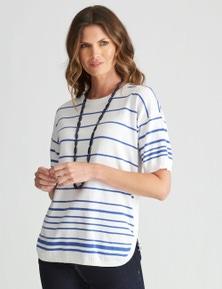 W.Lane Stripe Pullover