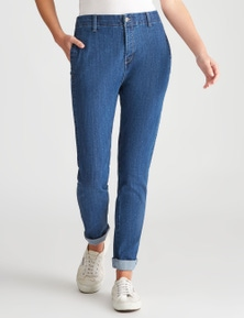 W.Lane Spot Full Length Jean