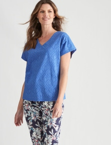 W.Lane Textured Top