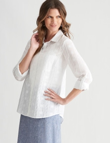 W.Lane Embroidered Pocket Shirt