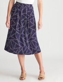 W.Lane Jersey Print Skirt