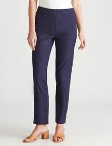 W.Lane Pull On Zip Smart Pant