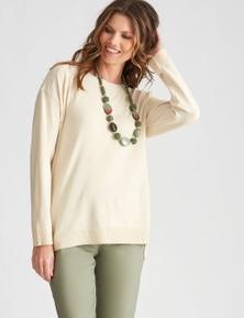 W.Lane Side Button Knit Top