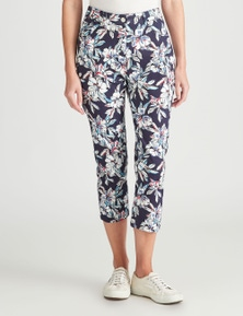 W.Lane Tropical Print Jean