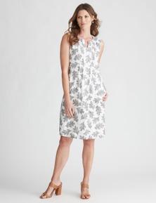 W.Lane Box Pleat Dress