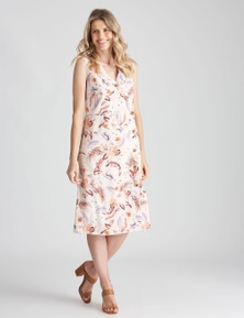 W.Lane Assymetrical Button Dress