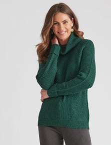 W.Lane Cowl Neck Pullover