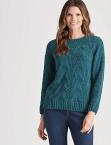 W.Lane Chunky Cable Pullover