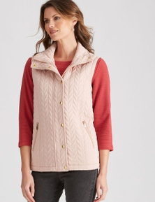 W.Lane Quilted Puffer Vest