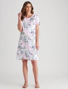 W.Lane Linen Scenic Dress