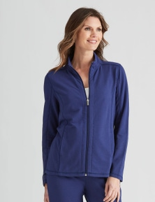 W.Lane Leisure Zip Detail Jacket