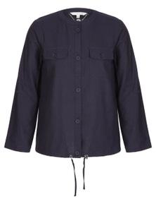 W.Lane Drawstring Button Jacket