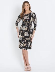 W.Lane Chain Print Dress