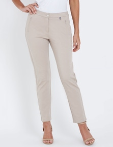 W.Lane Side Ring Detail Full Length Pant