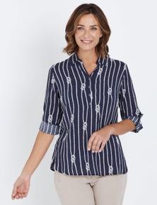 W.Lane Rope Printed Shirt