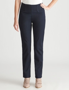 W.Lane Comfort Straight Leg Full Length Jean