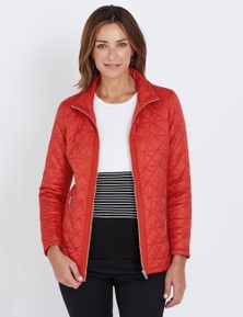 W.Lane Paneled Quilted Puffer Jacket