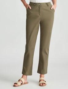 W.Lane Pocket Detail Ankle Cargo Pant