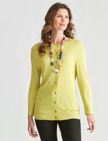 W.Lane Button Cardigan